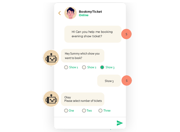 Automate Conversations with Chatbots